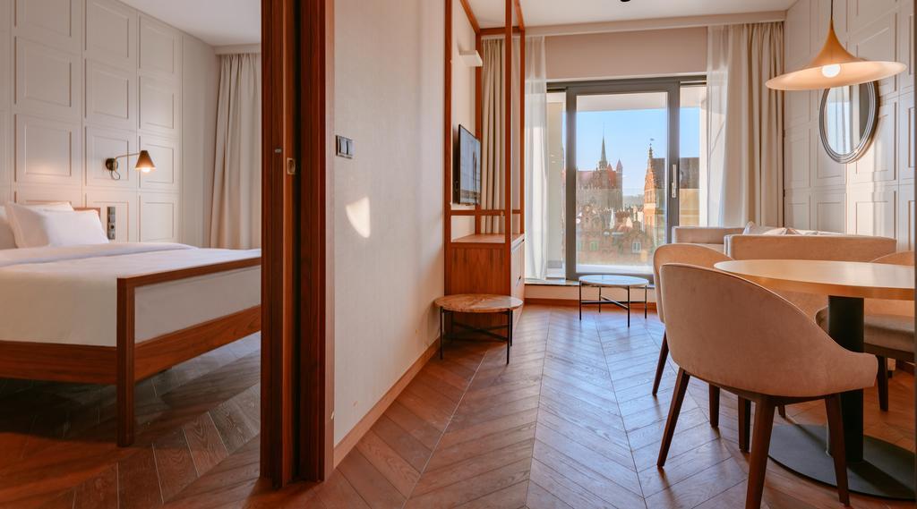 Rommene på luksuriøse ****Radisson Hotel&Suites Gdańsk blir booket lynraskt